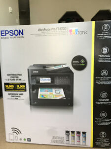 NEW Epson ET-8700 EcoTank Wireless multifunction printer