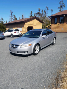 For sale 2008 Acura TL with summer and winter tires