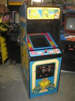 Ms Pac-Man arcade multi-game...Donkey Kong, Galaga etc