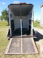 2 stall horse trailer for sale