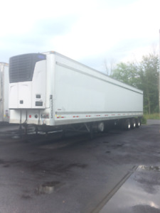 REFRIGERATED, DRY VAN TRANSPORT TRAILERS & TRACTOR FOR RENT/SALE