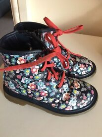 M&S girls boots Size 11