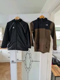 Boys North Face and Adidas Jackets