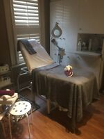 Small spa space for lease