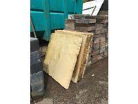 8 sandstone style slabs 600/600 for sale.