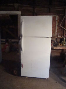 White Fridge