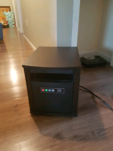 Infrared Quartz heater (with remote control)