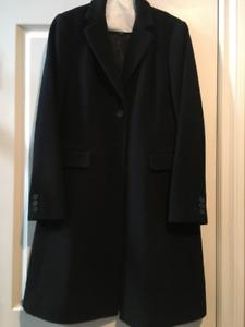 Womens Wool  Dress Coat