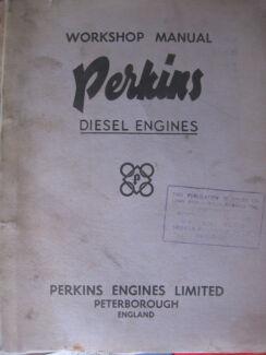 PERKINS FOUR 99 DIESEL ENGINE WORKSHOP SERVICE MANUAL c1959 Dianella Stirling Area Preview