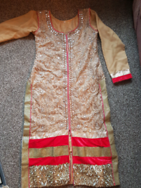 Asian wedding outfit