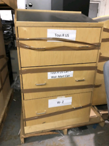 Wood Filing Cabinets For Sale