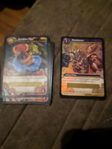 FAITE VITE 12 cartes World of warcraft loot code a grater rare