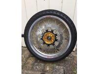 KTM 950 SE Super Moto Wheel Set