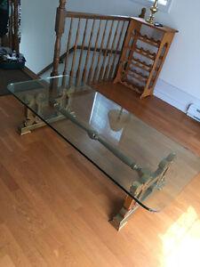 Quick Sale - Beautiful Glass Coffee Table