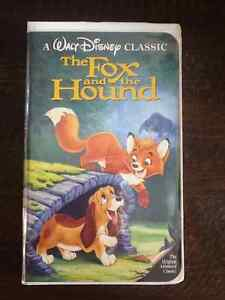 The Fox and the Hound - Black Diamond Classic VHS