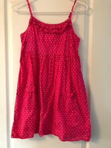 girl's sun dress - pink - size medium