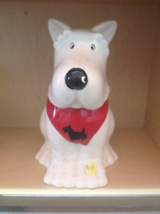 Scottie Dog, Treat Jar