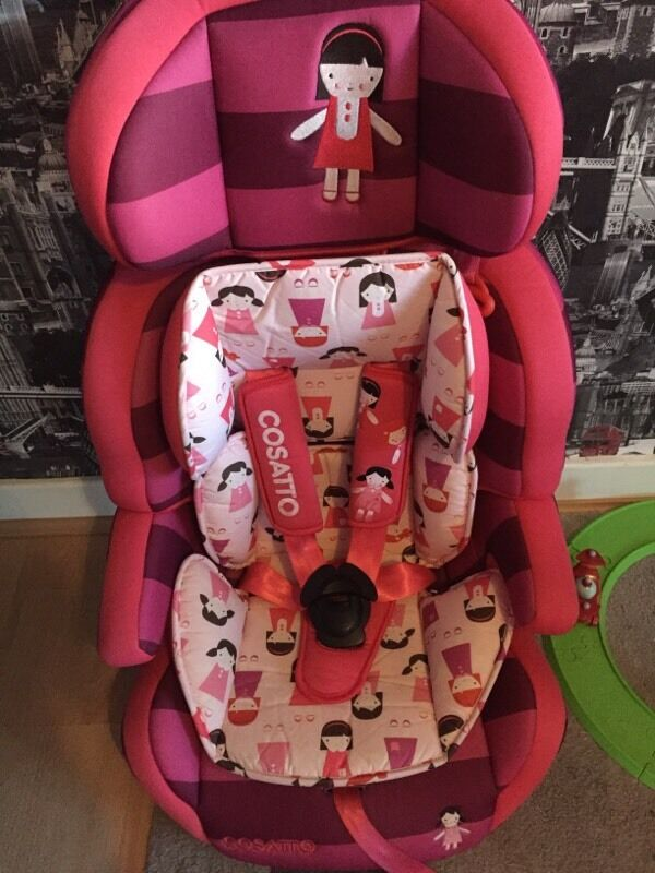 Cosatto ZOOMI 123 Dilly Dolly Car Seat 9 Months Plus