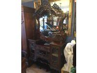 Antique sideboard chiffonier