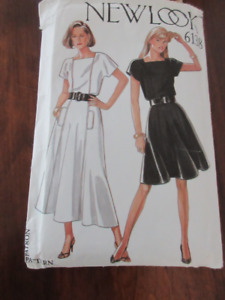 New Look Sewing dress pattern 6138 size 8-18.