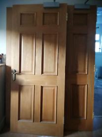 4 x Solid Oak Doors