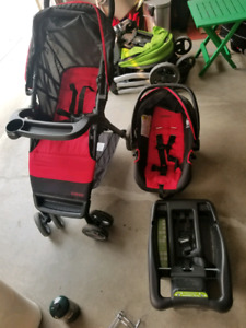 Cosco Stroller And Car Seat With Base