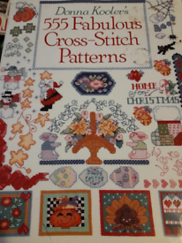 55 Fabulous Cross Stitch Patterns by Donna Kooler
