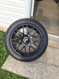 Mustang rims and tires 18""