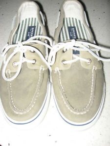"New Sperry Top-Sider ""Bahama"" Deck / Boat Shoes  Size 9"