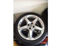 """17"""" Vauxhall alloy wheels"""