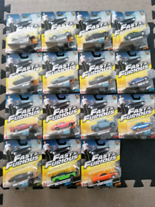 1:55 Diecast Mattel Fast and Furious Car Collection