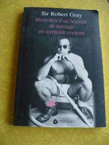 MÉMOIRES D'UN HOMME DE MÉNAGE EN TERRITOIRE ENNEMI