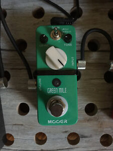Mooer Green Mile Overdrive for Sale.