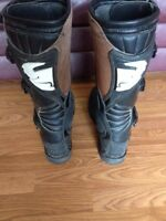 Thor motocross boots and pants