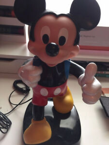 tyco mickey mouse backpack phone