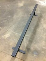 Skate skateboard rail 7ft long adjustable height