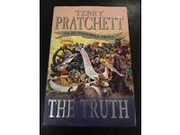"""The Truth"" by Terry Pratchett - Signed copy - first edition"