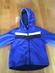 Boys Osh Kosh spring jacket, size 4, fleece lined