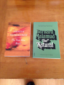 Sun Also Rises and The Natural NEW novels