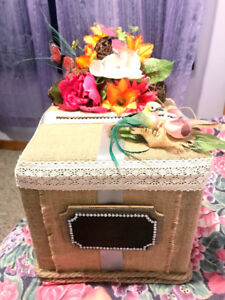Customize Wedding items (card box,guest book, & a lot more!
