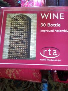 Wine rack -- 30 bottles. BNIB