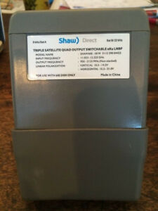 Shaw Direct triple satellite quad output xku lnb - NEW IN BOX