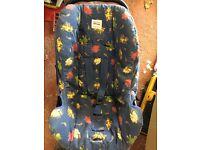 FREE baby 0-9months car seat Britax
