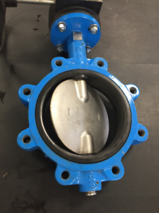 """CLEARANCE 8"""" Flow+ Butterfly Valves was $450 NOW $150"""