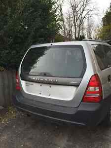 2003 to 2005 Subaru Forester Rear Hatch