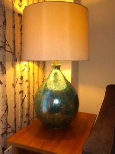 Beautiful Mercury Glass Table Lamp