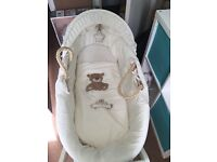 Immaculate condition! Moses basket for either boy or girl