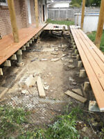 Deck and Fence Repair/Demolition/Disposal