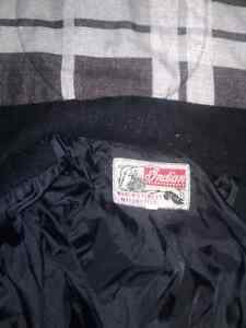 Indian motorcycle  jacket it is a large and is not leather Cambridge Kitchener Area image 3