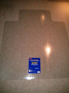 "Chairmat 53"" x 45"" - for carpet upto 3/4"" thick"